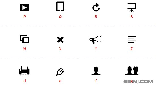 Modern Pictograms