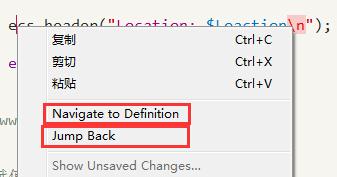 使用ctags查看函数方法跳转